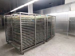 Stainless steel drying layer rack trolley HR-DT-02