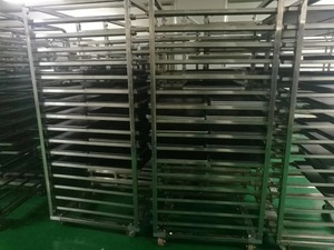 Stainless steel drying layer rack trolley HR-DT-03